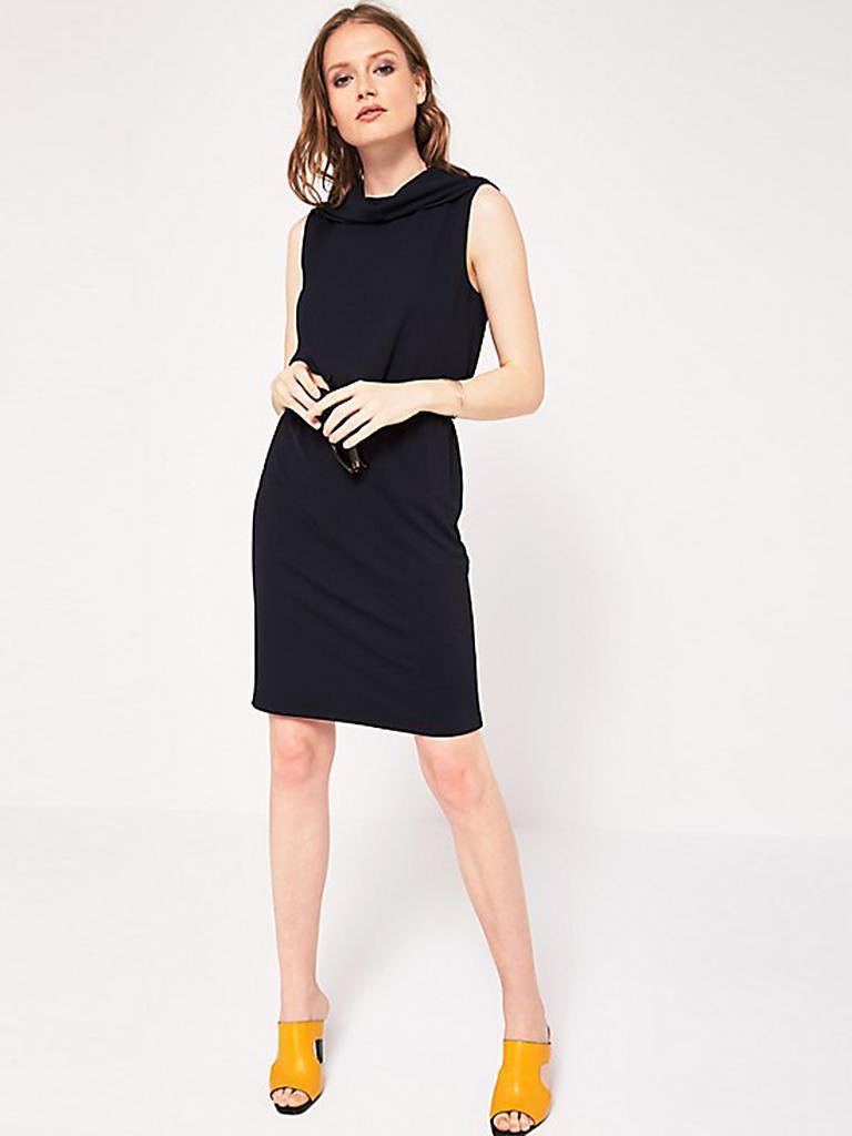 Comma Kleid Blau  32