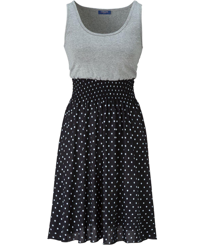 Conleys Blue Jerseykleid Conleys Mode Fashion With