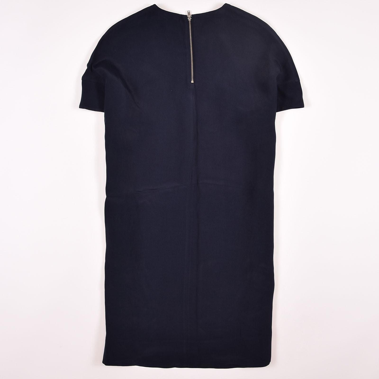 Cos Damen Trapez Kleid Dress Gr38 Taschen Oversize Zip
