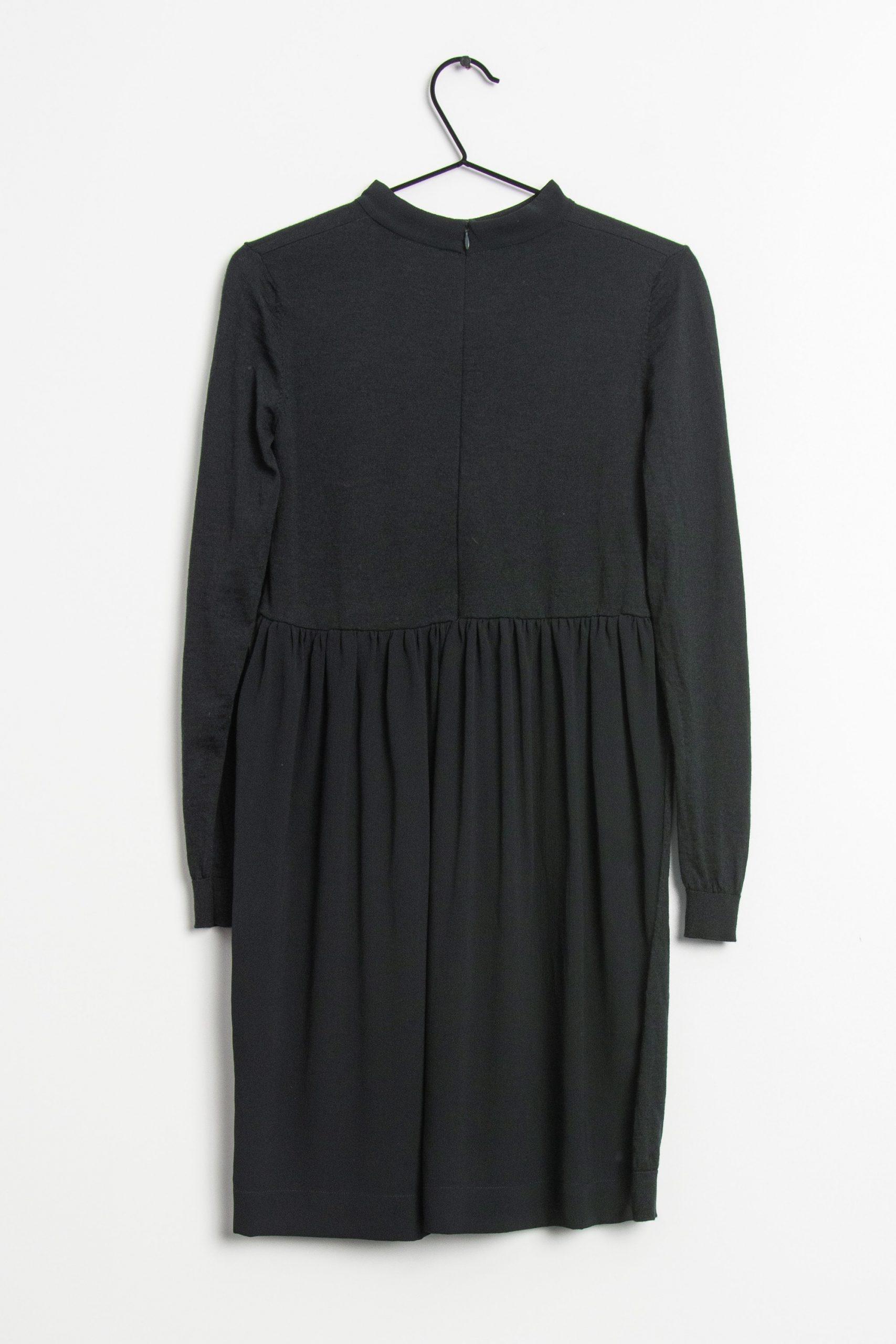 Cos Kleid Schwarz Grxs