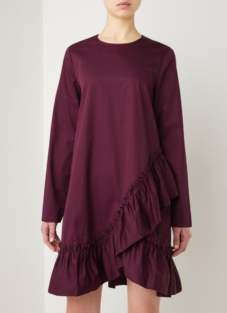 Cos Midi-Tunika-Kleid Mit Rüschen Und Seitentaschen
