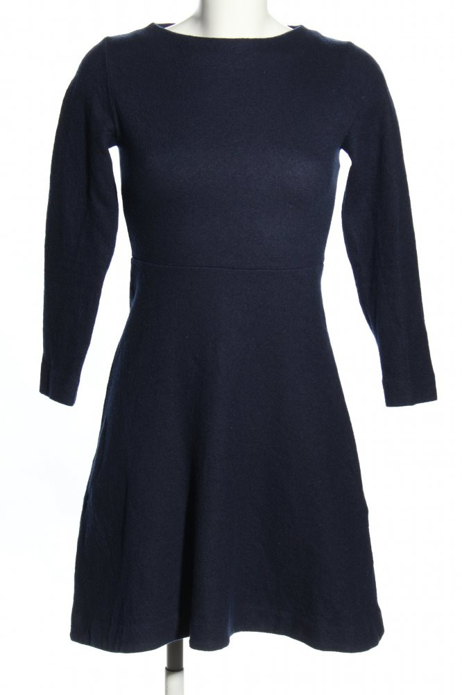 Cos Wollkleid Blau Businesslook Damen Gr De 34 Kleid