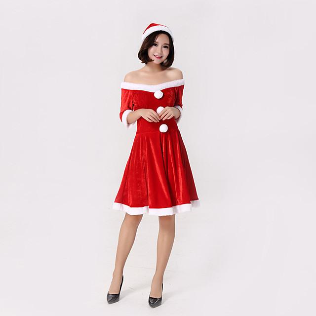 Cosplay Kostüme Weihnachtsmann Kleiden Teen Erwachsene