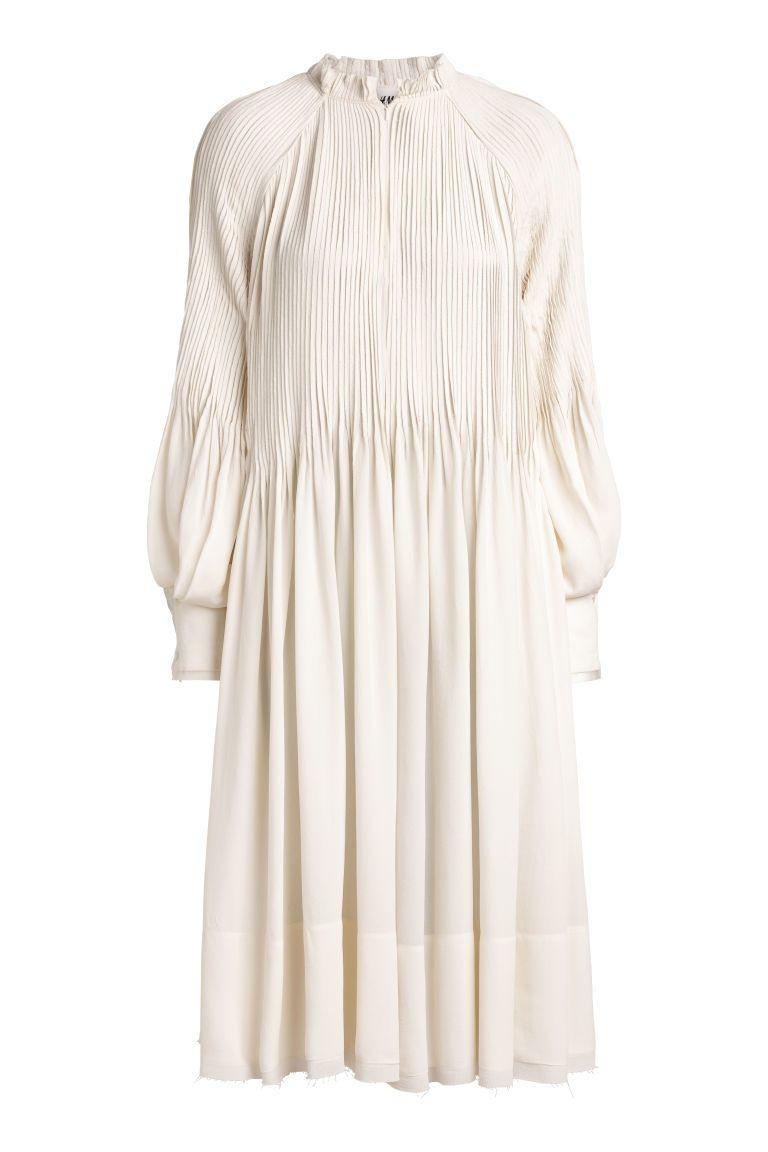 Crêpekleid  Modestil Wadenlanges Kleid