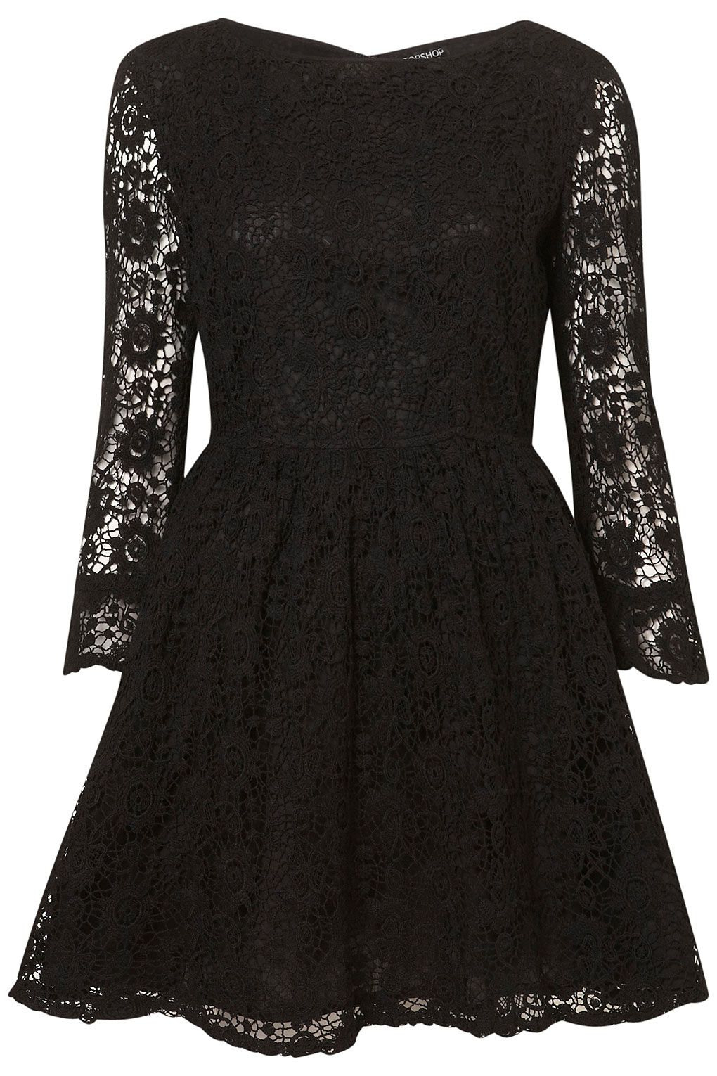 Crochet Lace Flippy Dress From Top Shops Witching Hour