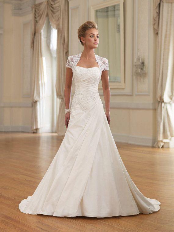 Customnewcharmingalineweddingdress  Hochzeitskleid