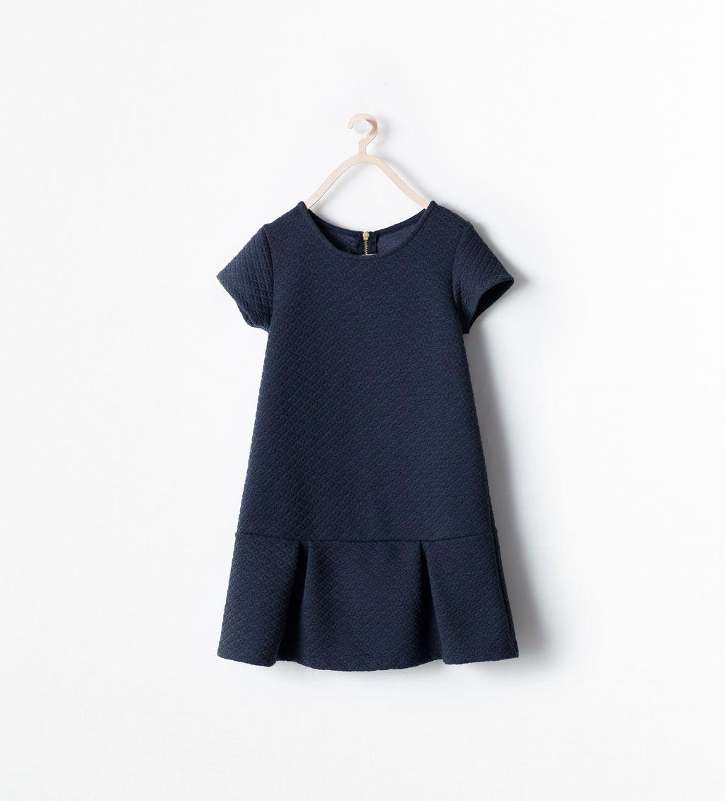 Изображение 2 Из Жаккардовое Платье С Молнией От Zara