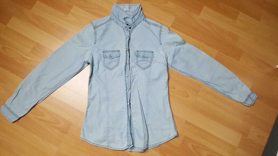 Damen Blusen Hemden Kariert Blusenkleid Hm Esprit Größe S