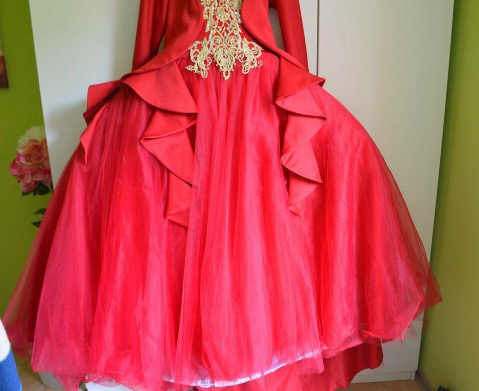 Damen Henna Abend Hennaabend Kleid Festkleid Abendkleid Gr