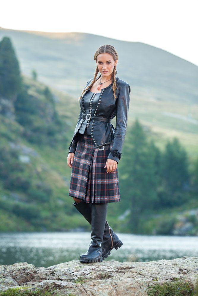 Damen Jacke Eden En 2020  Mode Tartan Mode Tartan Écossais