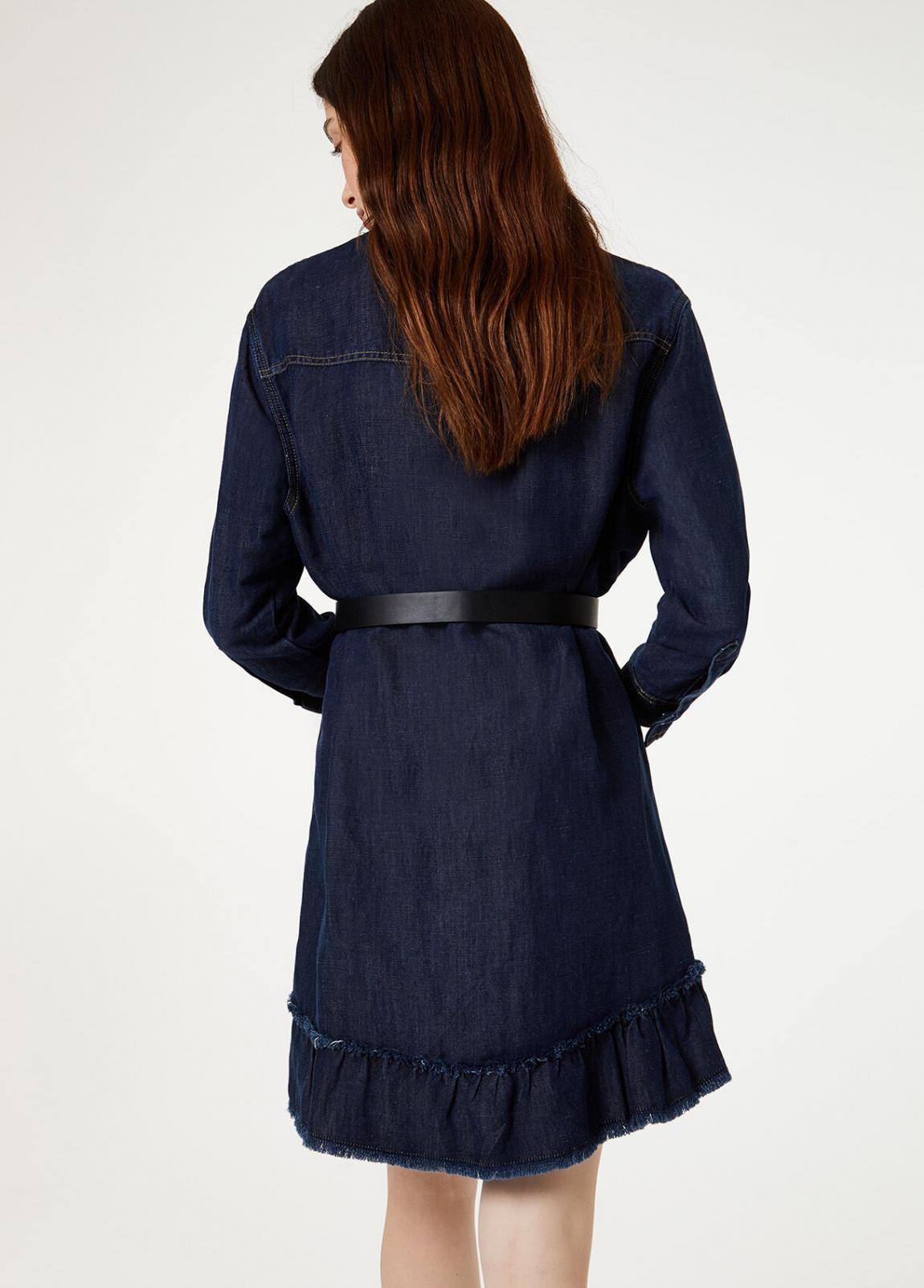 Damen Jeanskleid Mit Gürtel  Liu Jo Kleider — Pax Domini