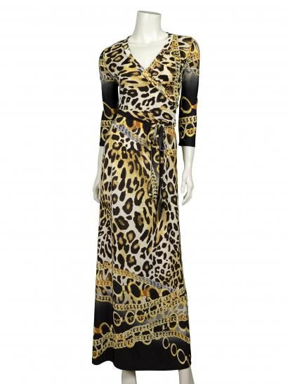 Damen Jersey Kleid Multicolor  Kleider Sommer Kleider
