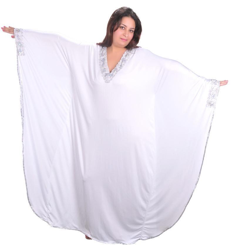 Damen Kaftan  Kleid Im Butterfly Look