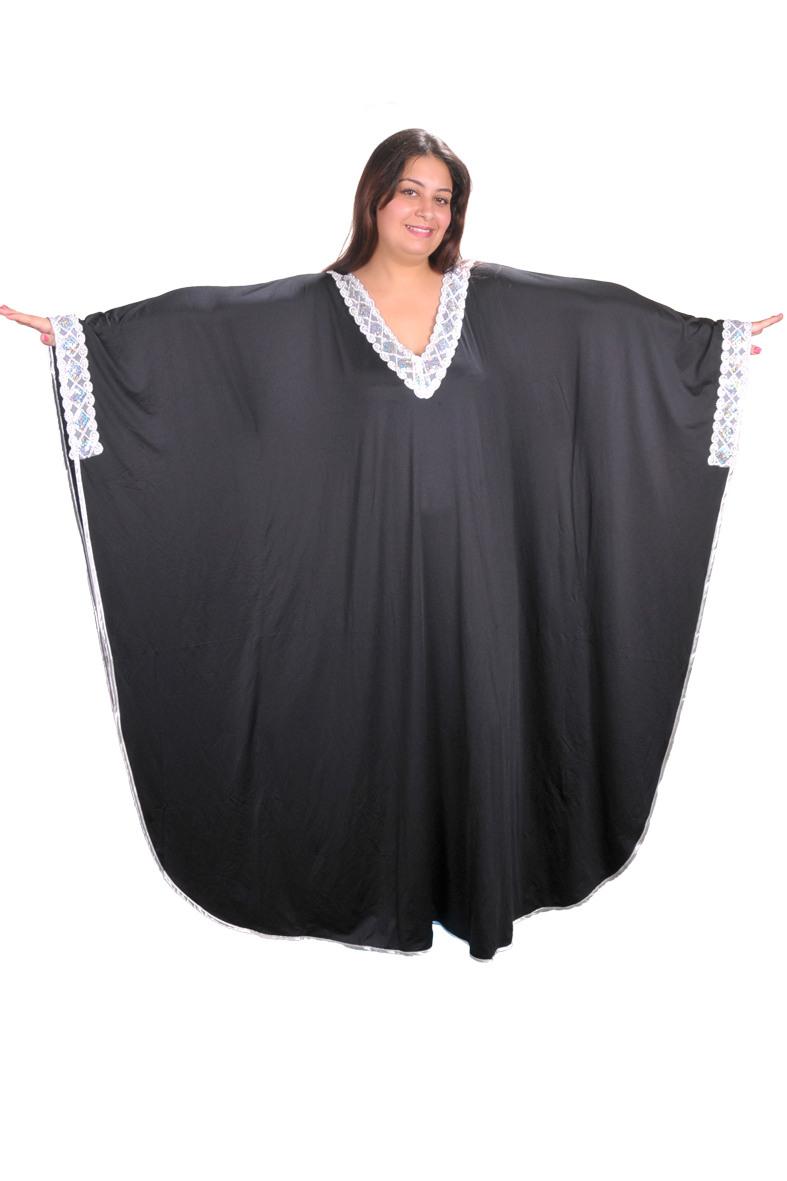 Damen Kaftan  Kleid Im Butterfly