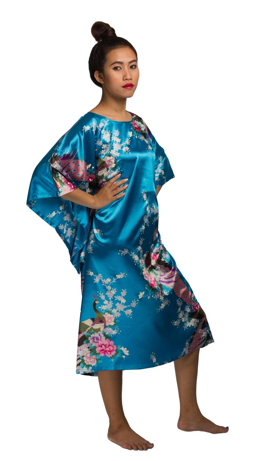 Damen Kaftan Kleid Oriental Style Caftan Bou Bou  Ebay