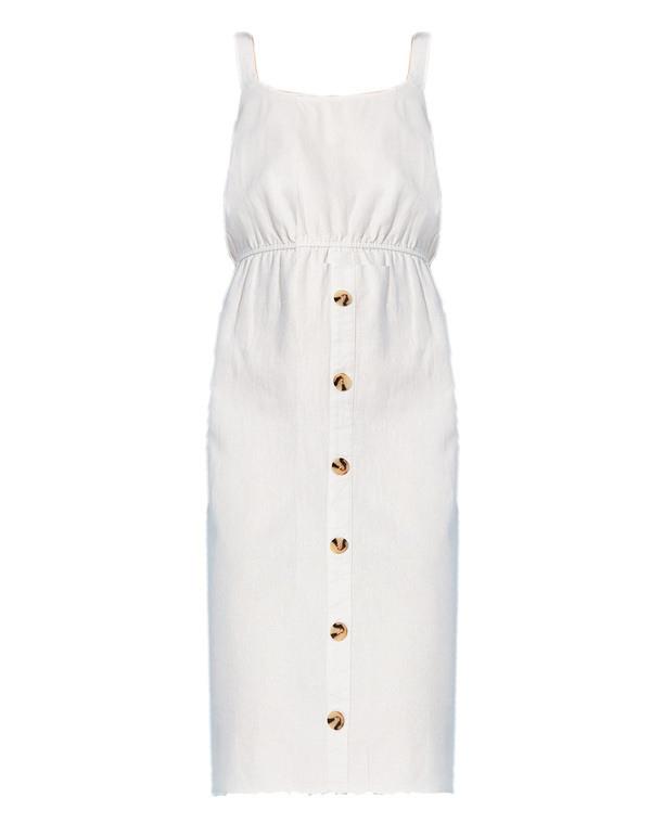 Damen Kleid Aus Leinenmix Von Takko Fashion Ansehen