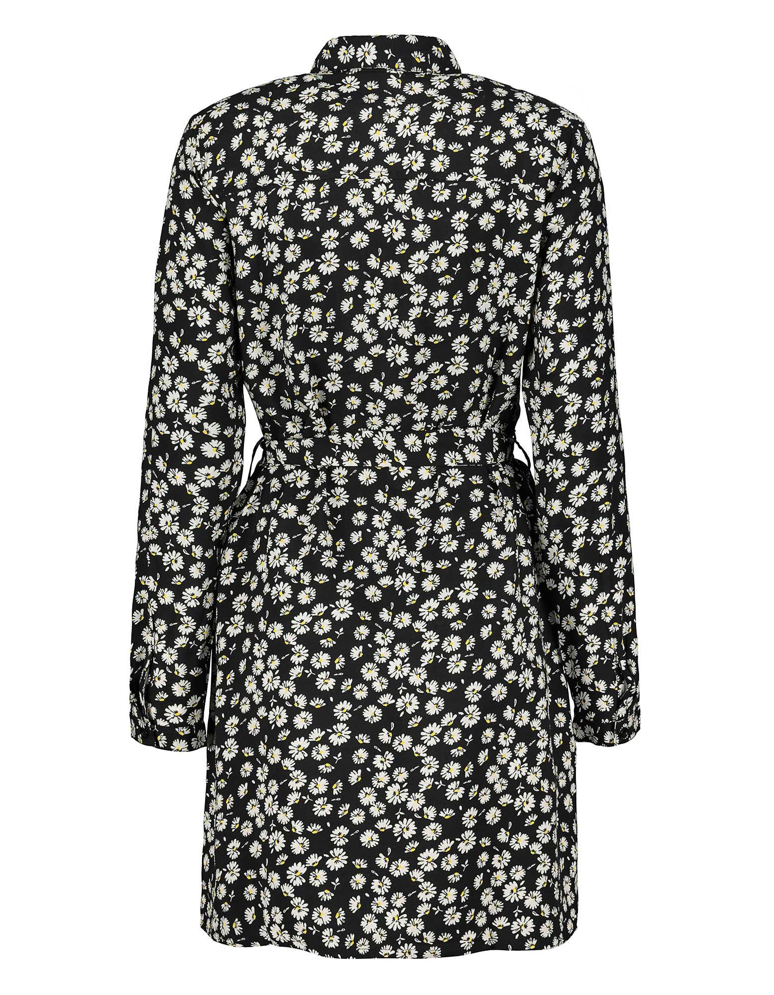 Damen Kleid Aus Viskose  Takko Fashion