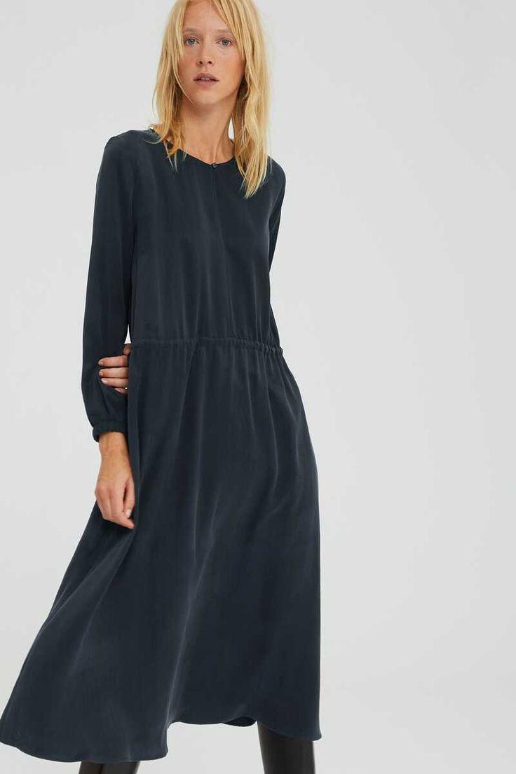 Damen Kleid Calsey In Schwarz  Drykorn  Kleider Tuch