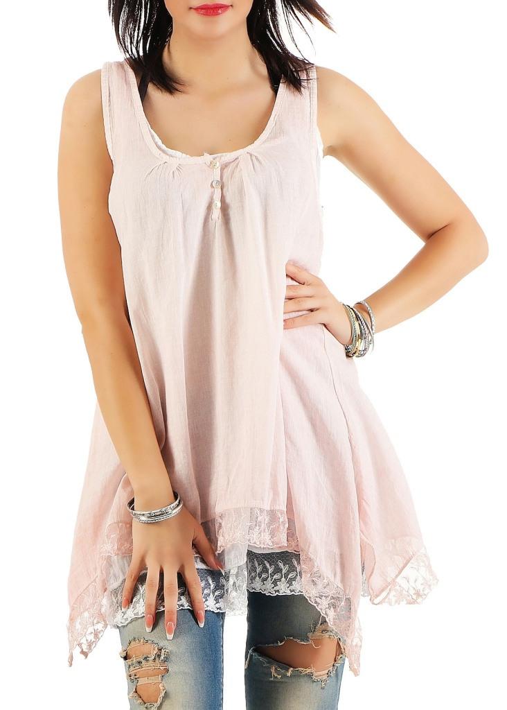 Damen Kleid Kurz Sommerkleid Strandkleid Tunika Minikleid