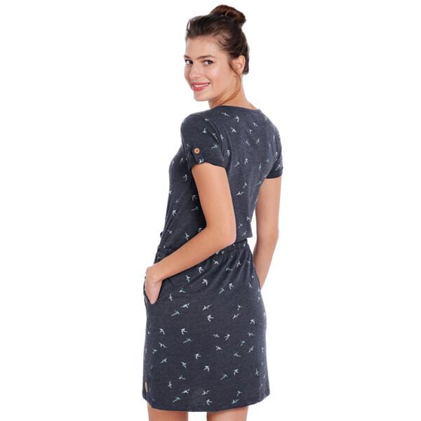 Damen Kleid Mit Schwalbenprint Von Ernstings Family Für