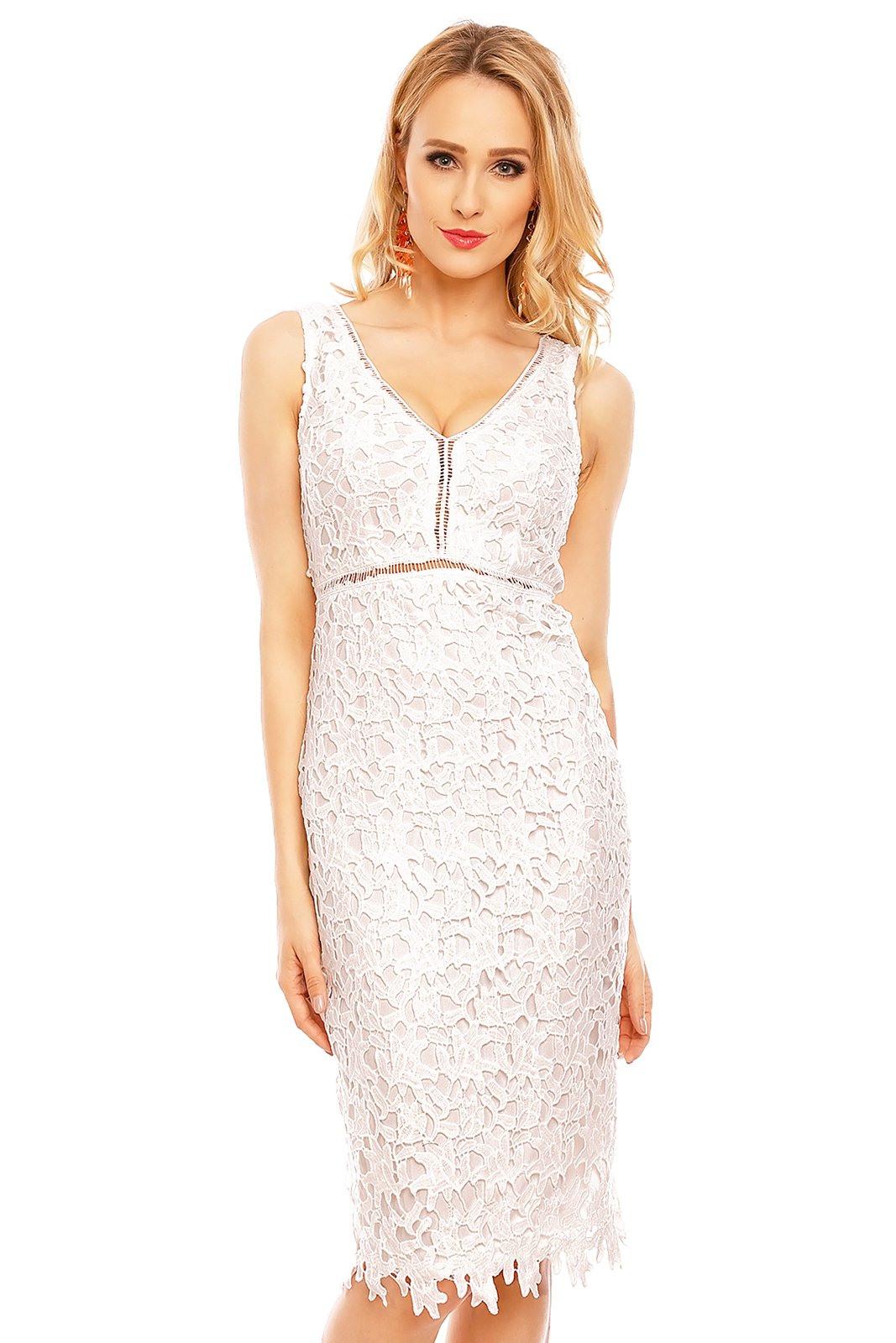 Damen Kleid Party Abendkleid Cocktailkleid Knielang Spitze