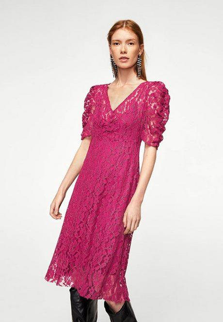Damen Kleid Pink