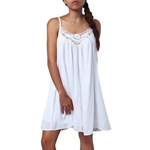 Damen Kleid Suces Erfrischend Rundhalsausschnitt Drucken