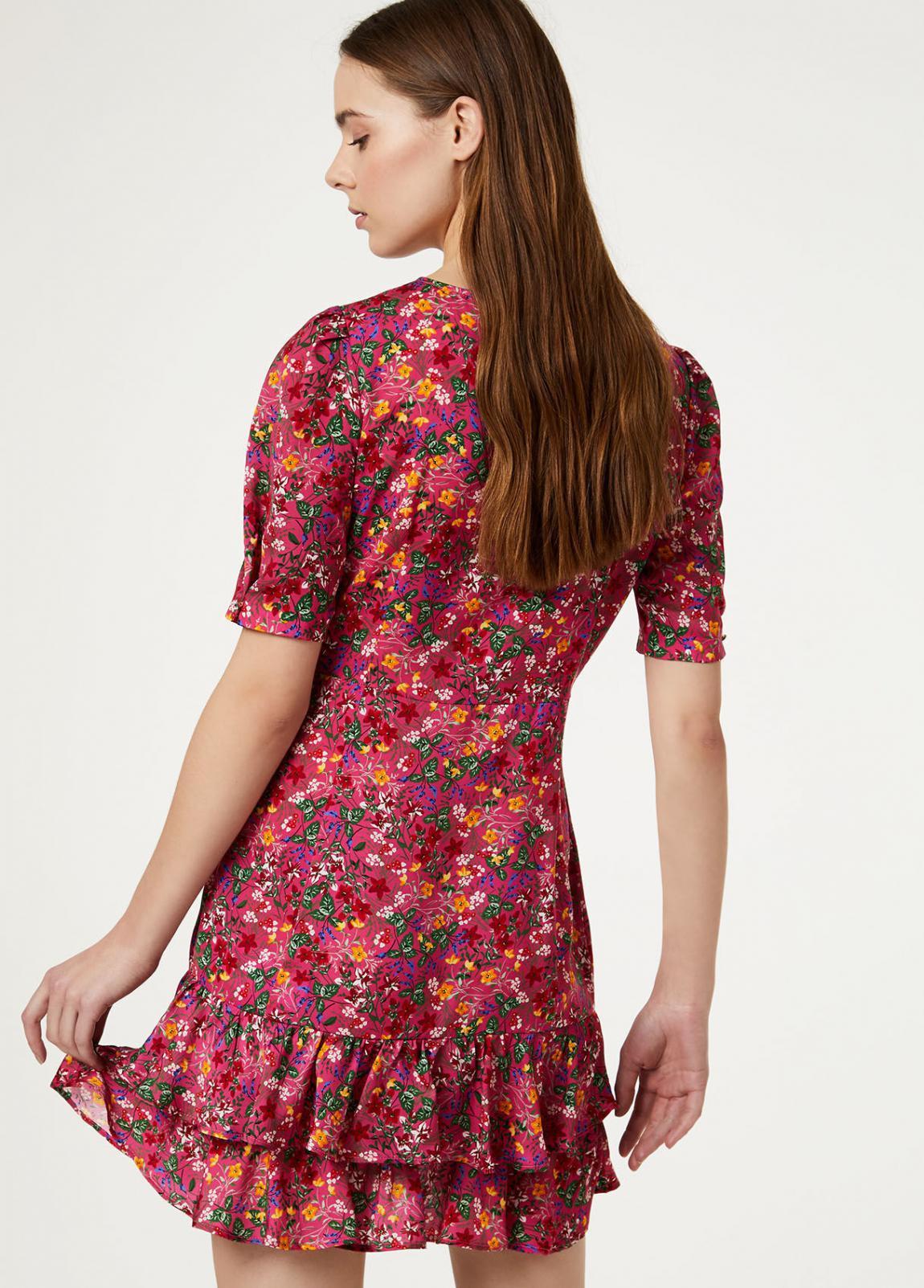 Damen Kurzes Kleid Mit Volant  Liu Jo Kleider — Pax Domini