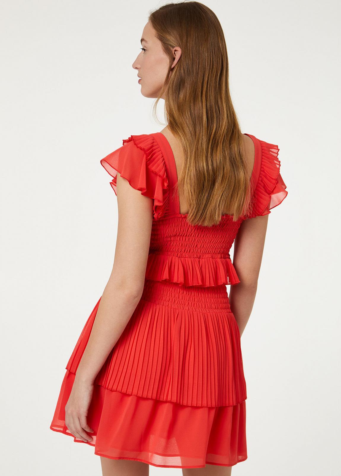 Damen Kurzes Kleid Mit Volants  Liu Jo Kleider — Pax Domini