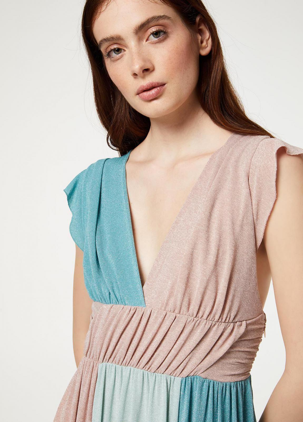 Damen Langes Kleid Aus Lurex®  Liu Jo Kleider — Pax Domini