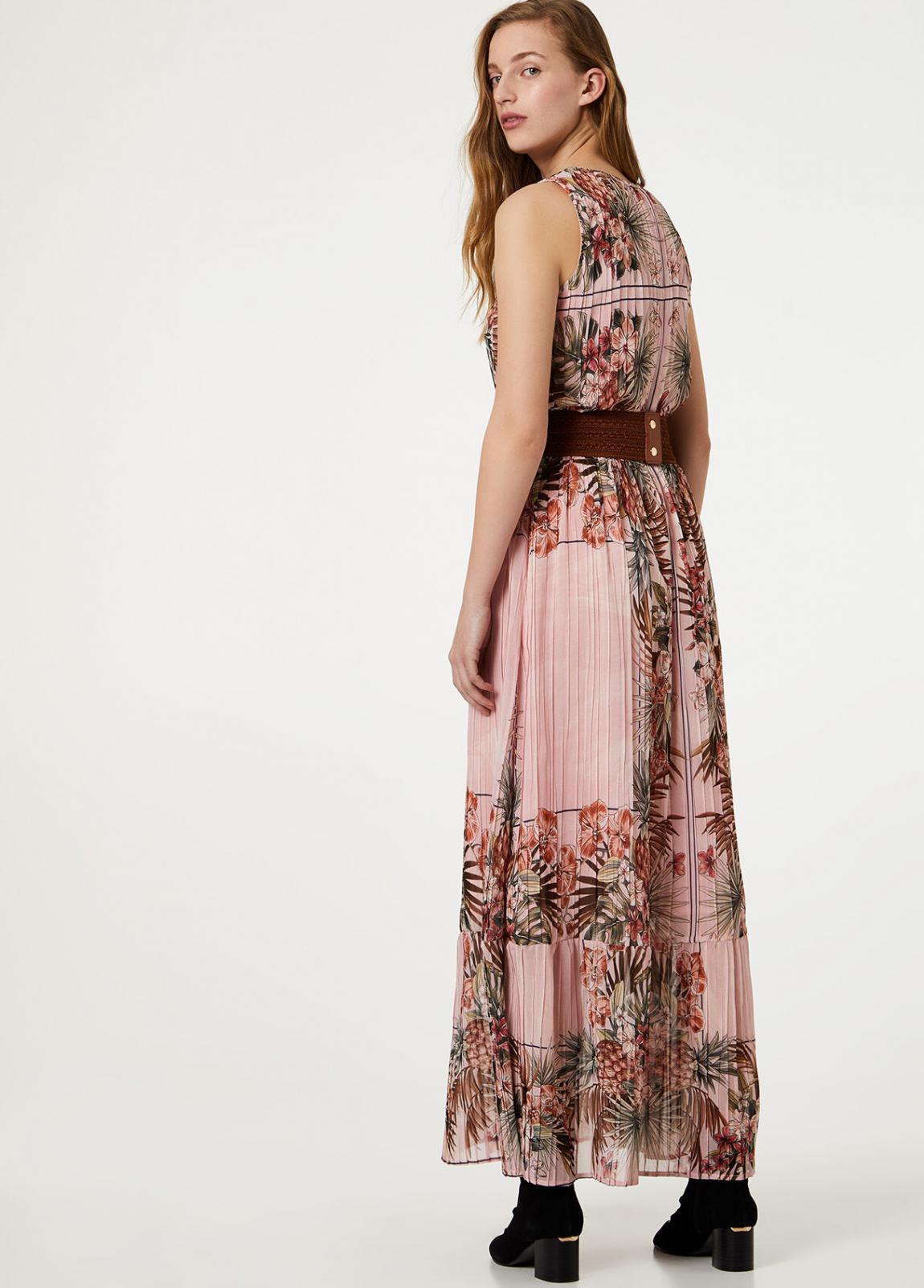 Damen Langes Kleid Mit Gürtel  Liu Jo Kleider — Pax Domini