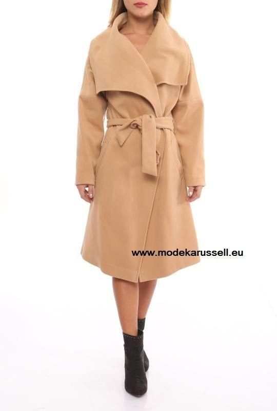 Damen Mantel Gunhild Beige  Kleider Online Shop Mode