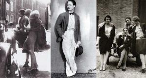 Damen Mode Der 20Er Jahre  Frauenband Swingtrio