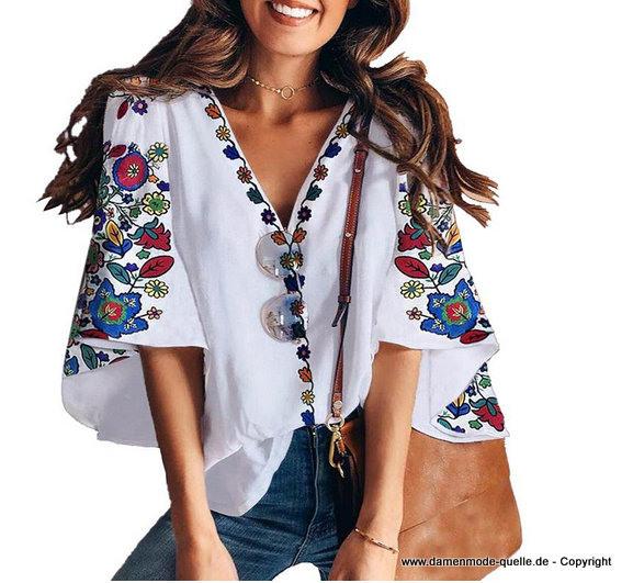 Damen Oberbekleidung  Boho Style Sommer Tunika 2020 Mit