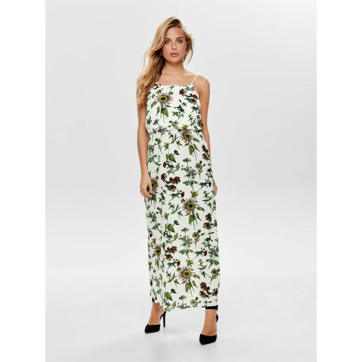 Damen Only Sommerkleid Mit Floralem Print Von Awg Mode