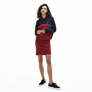 Damen Polokleid Mit Colorblocks  Lacoste