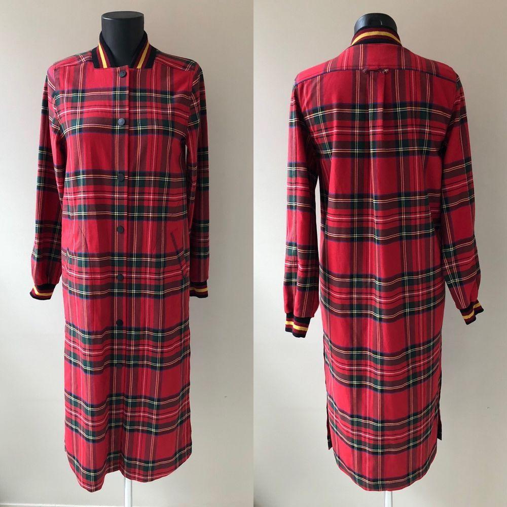 Damen Rihanna For River Island Kleid Jacke Mantel In Rot