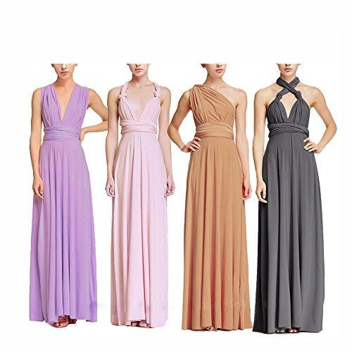 Damen Rückenfrei Cocktail Kleid Rosennie Frauen Sommer