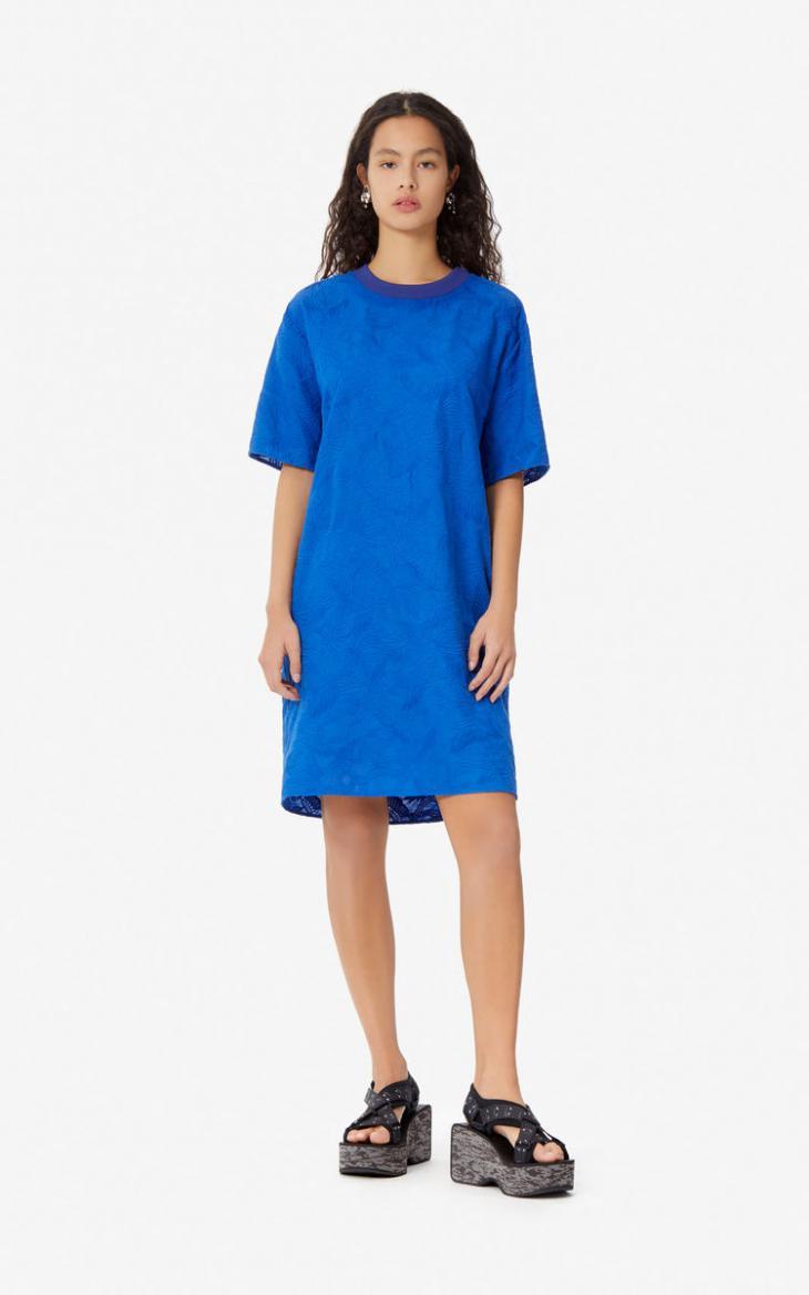 Damen Tshirtkleid 'Flying Phoenix' French Blue  Kenzo