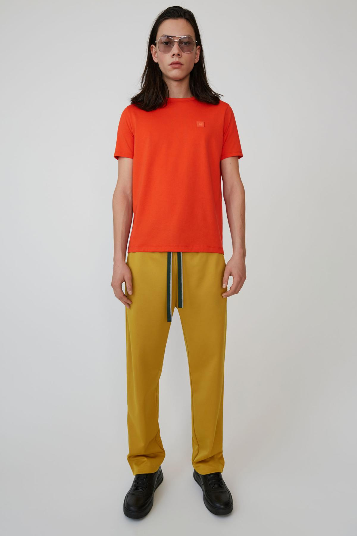 Damen Tshirts  Acne Studio Klassisches Tshirt Paprika