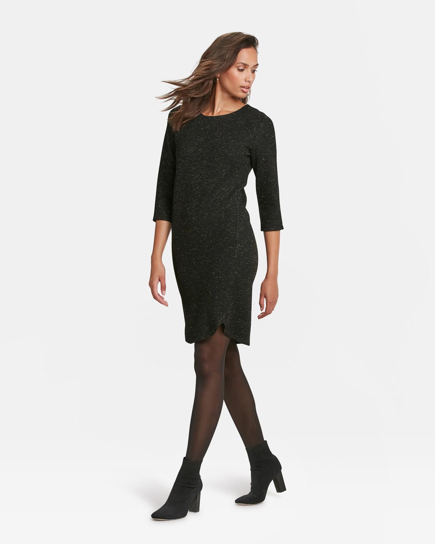Damenkleid Mit Glitzereffekt  89922194  We Fashion