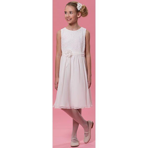 Das Biancorellaweise Kleid Für Mädchen Besitzt