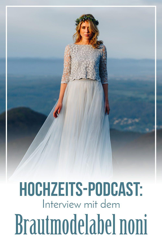 Das Brautmodelabel Noni Aus Köln Entwirft Schöne Moderne