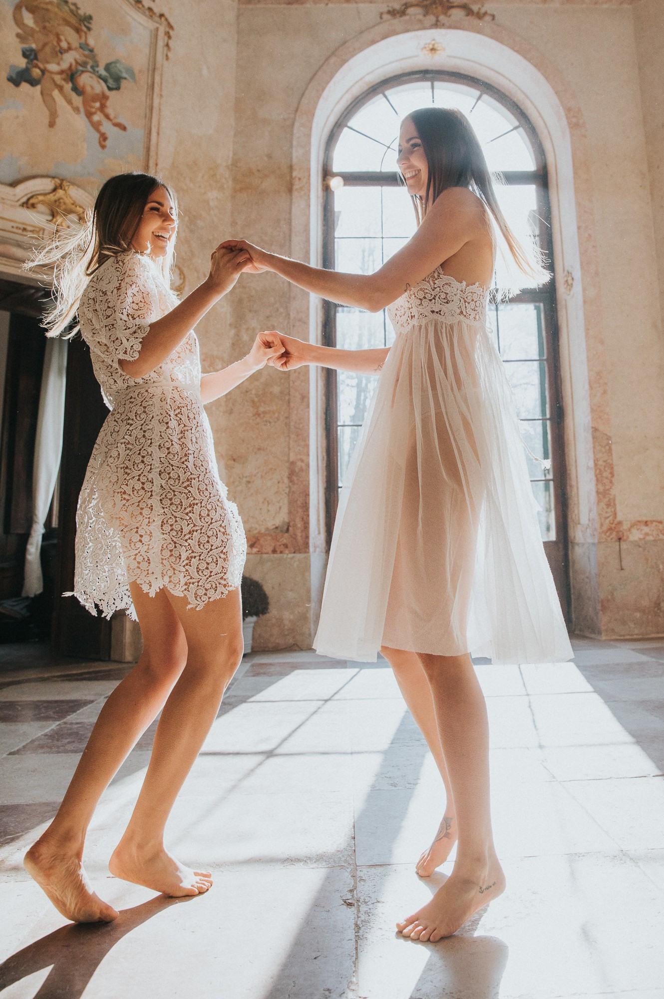 Das Kleid Salzburg  Twins Editorial  Zuparino