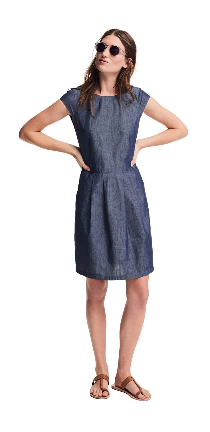 Das Outfit Das Citykleid Von Opus Fashion Blaues