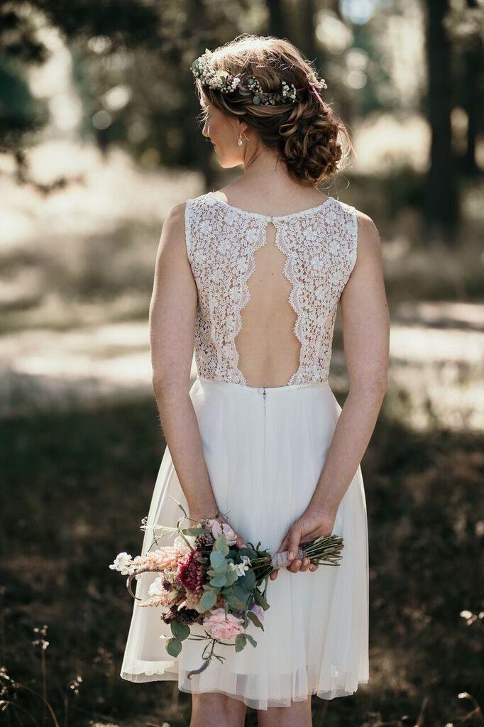 Das Perfekte Kleid Für Das Standesamt  Brautkleid