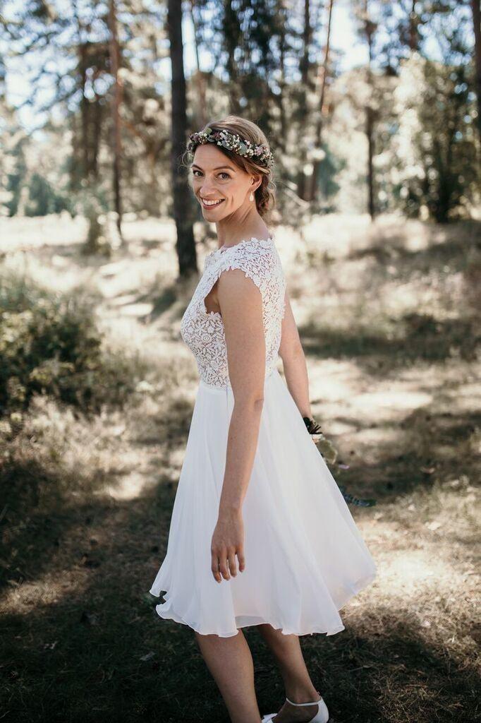 Das Perfekte Kleid Für Das Standesamt  Hochzeit Kleid