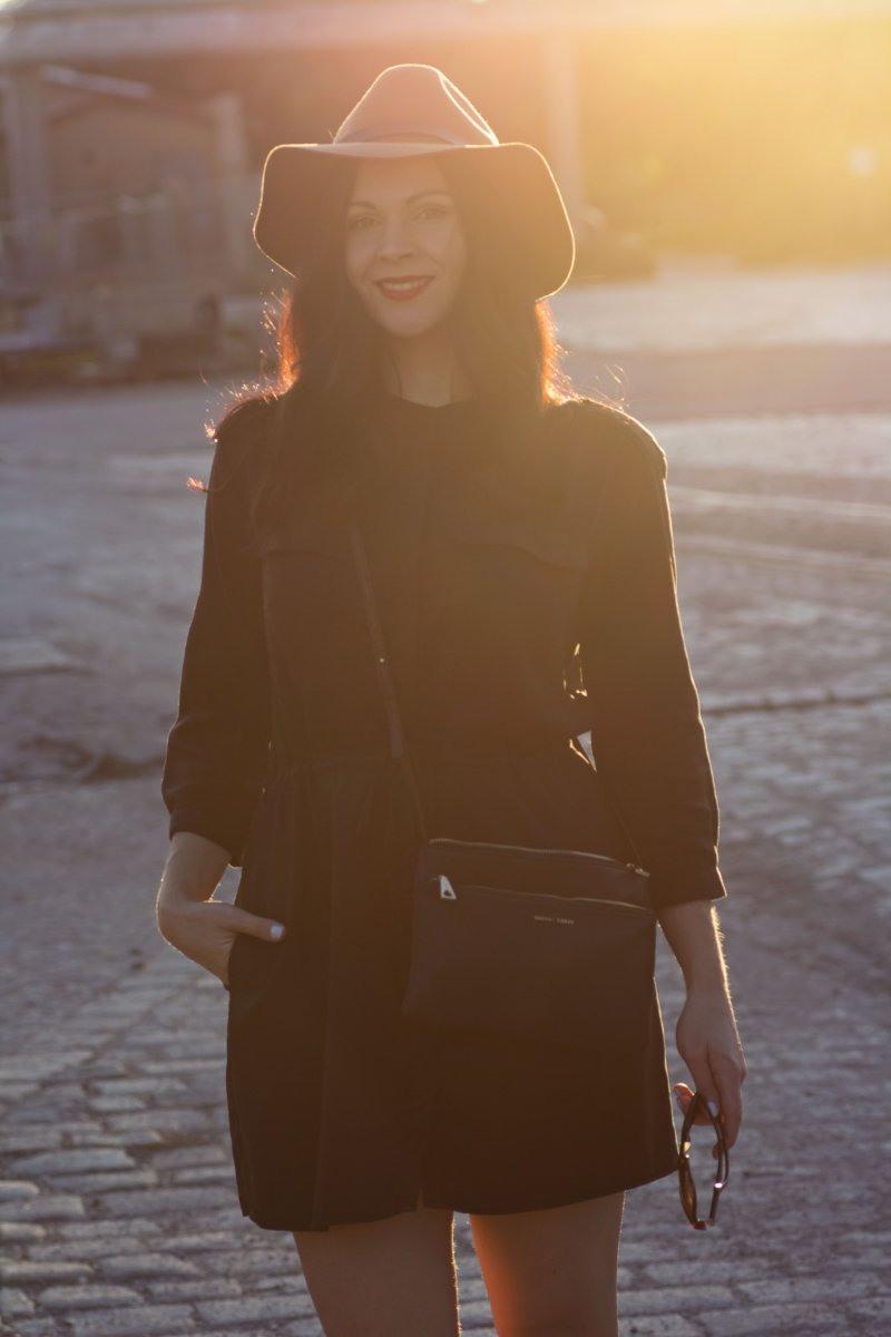 Das Schwarze Hemdkleid  Kleidermaedchen Fashion Beauty