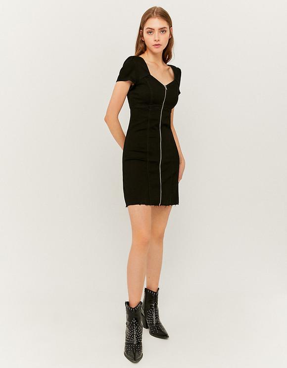 Denim Kleid Mit Puffärmeln  Tally Weijl Online Shop