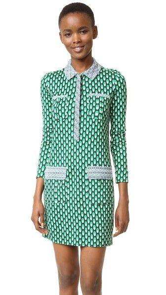 Denny Dress  Langarm Minikleid Kleider Und Diane Von